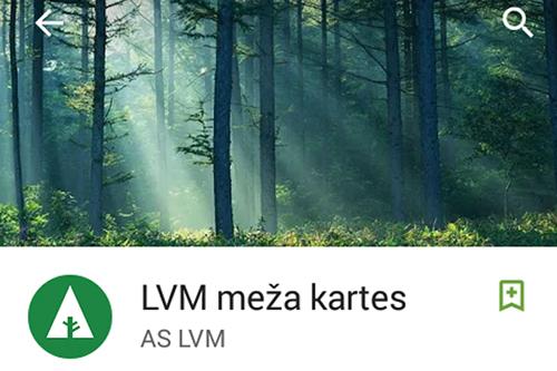 LVM meza kartes