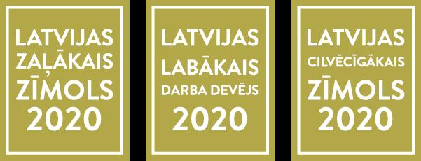 Latvijas valsts meži trīs godalgas
